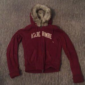 Abercrombie & Finch faux fur hoodie